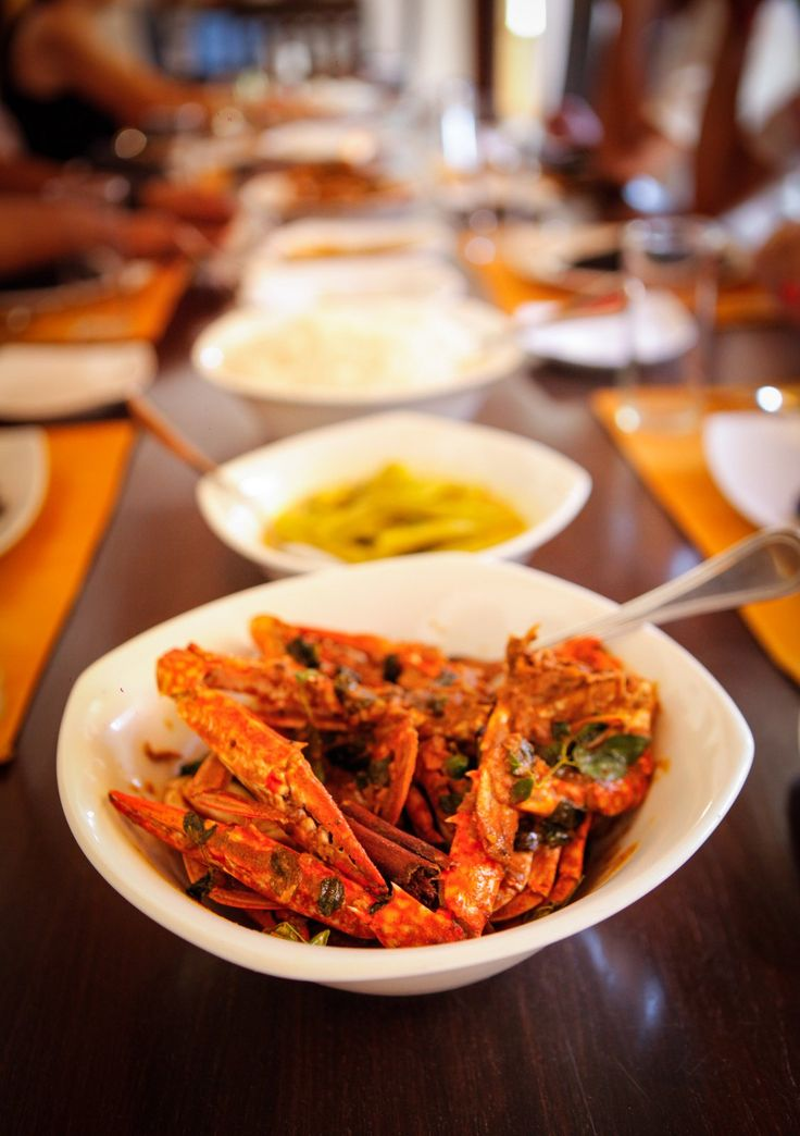 Jaffna is Famous for it's Mouthwatering Crab Curries - Contact us for a Cooking Experience and Learn how this World Famous Dish is Created.
