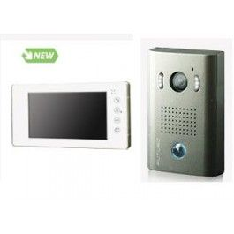 "Futuro intercom with picture memory White Frame 7"" Touch Screen with Door…"
