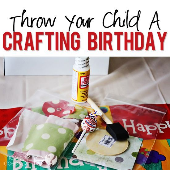 Host a crafting birthday party great ideas for a tween for How to be a good party host