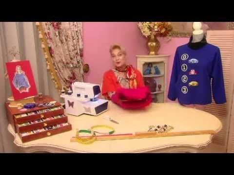Ольга Никишичева Блузон из шерсти - YouTube