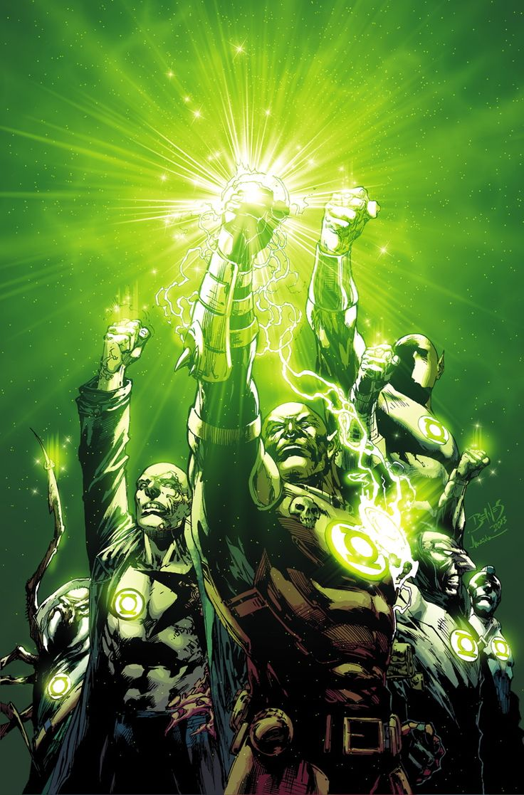 Green Lantern Corps. by Ed Benes *