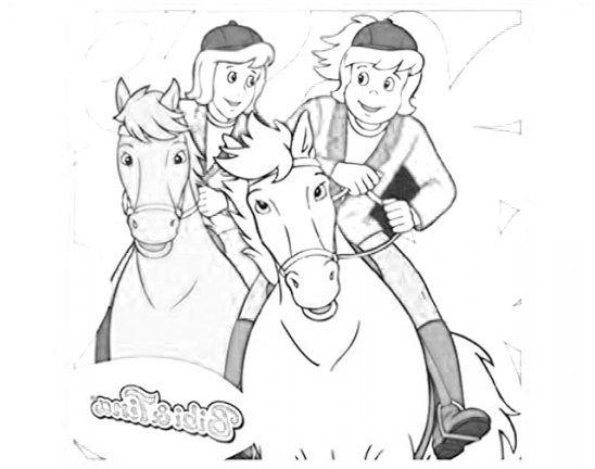 Ausmalbilder Bibi und Tina | Kinder Für Malvorlagen ...