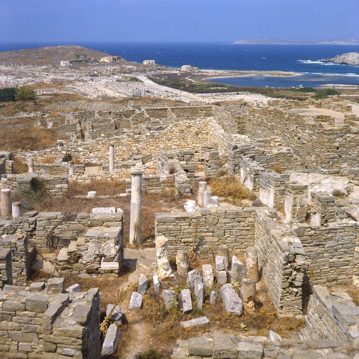 According to Greek mythology, Apollo was born on this tiny island in the Cyclades archipelago. Apollo's sanctuary attracted pilgrims from all over Greece and Delos was a prosperous trading port. The island bears traces of the succeeding civilizations in the Aegean world, from the 3rd millennium B.C. to the palaeochristian era. whc.unesco.org/... Photograph Delos (Greece) by Rien van Zuijlen on 500px