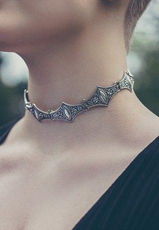 Melissandre Silver Choker Necklace                                                                                                                                                                                 More