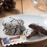 Burnbrae Farms - #CookieEggchange - Becel Anything Goes Mocha Crinkle Cookies -  One recipe, endless holiday possibilities with Becel's Anything Goes cookie dough