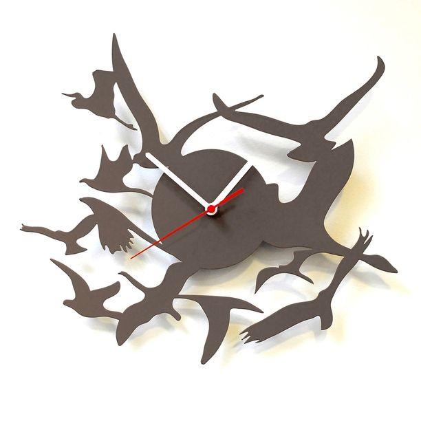 Птичья тема - часы (трафик, подборка) / Декор стен / ВТОРАЯ УЛИЦА