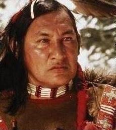 Will Sampson (Creek) actor/artist, 1933-1987.