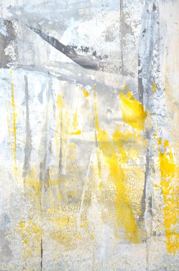 103 best Grey and Yellow Art images on Pinterest | Yellow art ...