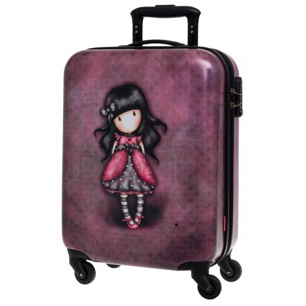 Nueva maleta Gorjuss colos rosa