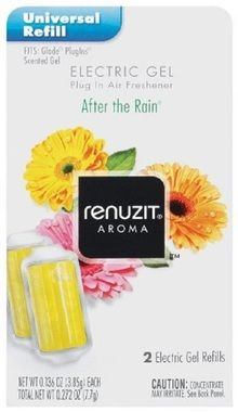 Renuzit Gel Electric Air Freshener Refill, After The Rain, .27 Ounce