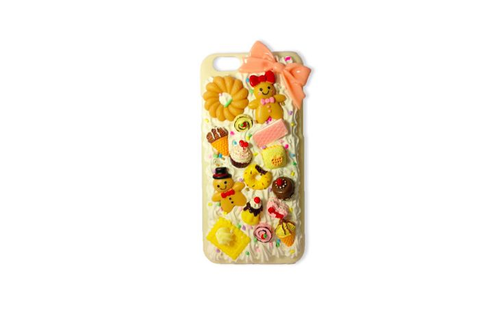 Cute bakery sweet decoden case cover for iPhone 6 (Ready to be shipped) by PepperAndSoda on Etsy