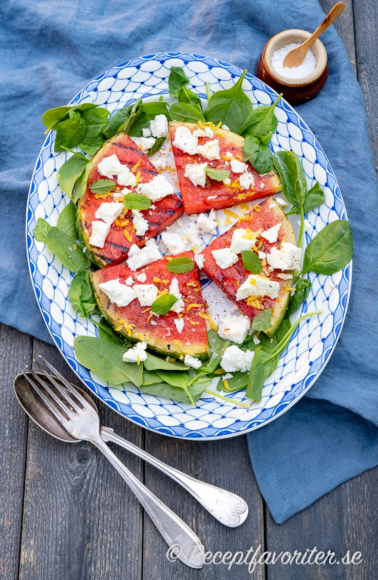 grillad vattenmelon recept