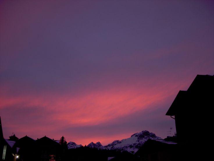 Tramonto ad Andalo ph. APT Dolomiti Paganella