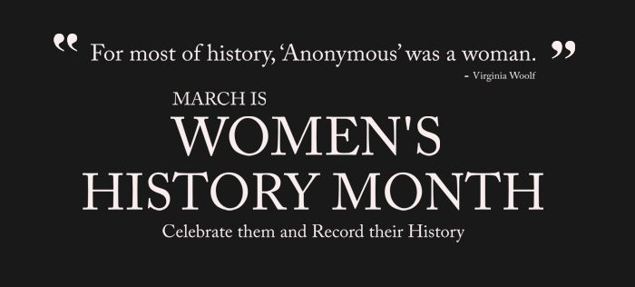 Celebrate Your Female Ancestors With Women's History Month - Genealogy & History News