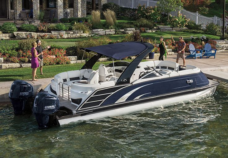 A new design inspired by the universal appeal of sleek lines and distinct handcrafted styling, the QX series empowers you to choose from over 20,000 color options, creating something that is completely unique to you. Be inspired! https://www.benningtonmarine.com/models/qx27-luxury-pontoon-boats/