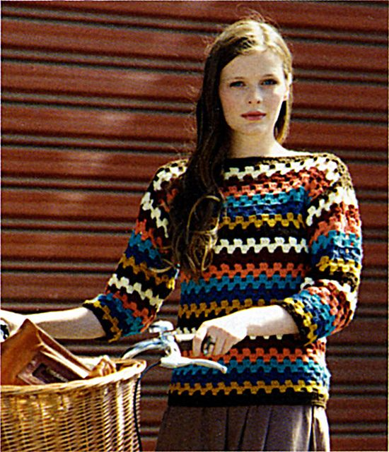 Ravelry: Marvel 8ply Crochet Jumper pattern by Spotlight
