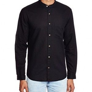 XESSENTIA-Mens-Casual-Linen-Blend-Shirt-in-Regular-Fit-0