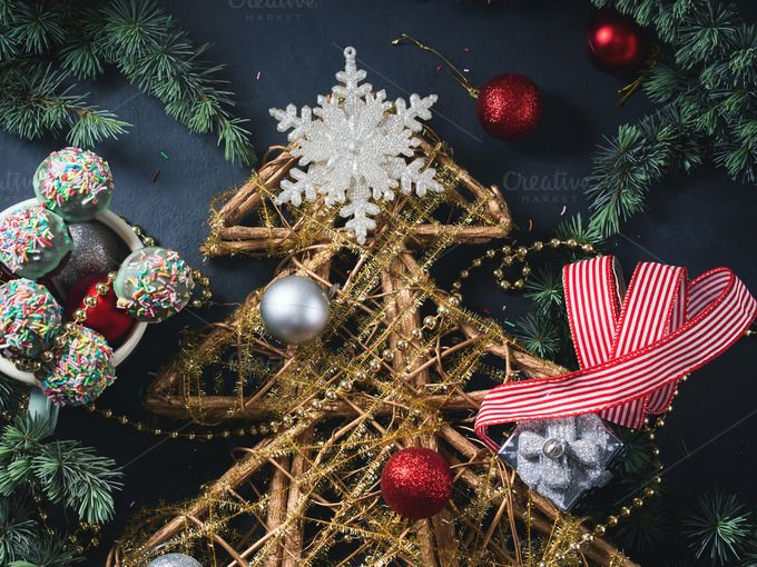 Christmas still life by Life Morning Photography on @creativemarket