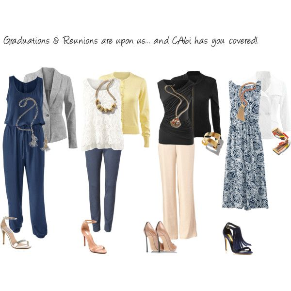 Look amazing at all of your upcoming graduations and spring events in these beautiful CAbi outfits!