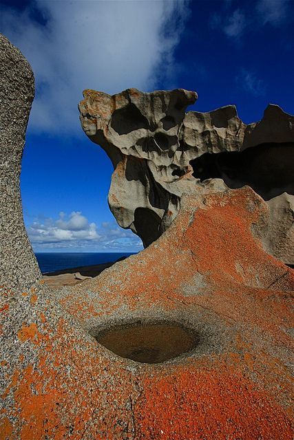 The Remarkable rocks sculptured by wind and rain, Kangaroo Island, South Australia