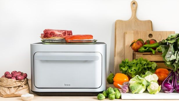 Brava Countertop Oven Cooks With Visible And Infrared Light