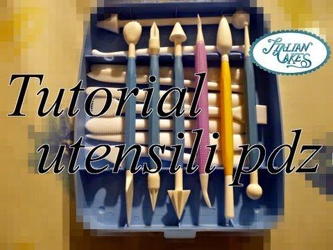 Utensili per pasta di zucchero (sugar paste modeling tools) by ItalianCakes