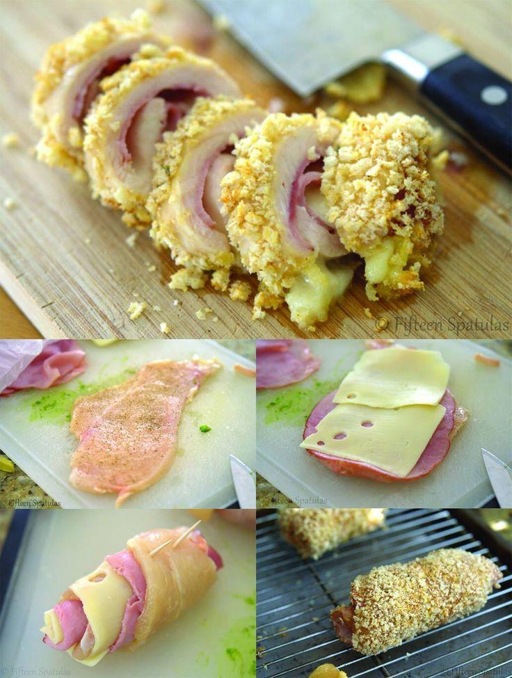 Escalope poulet/dinde farcie