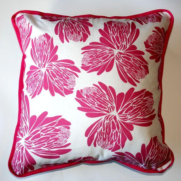 Cushion Sugarbush Pink - Katz Designer Textiles