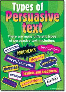 persuasive writing advert examples