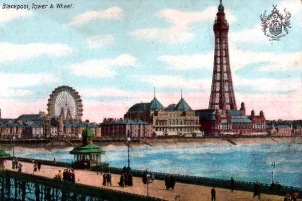 Postcards of the Past - Blackpool, Lancashire (2)