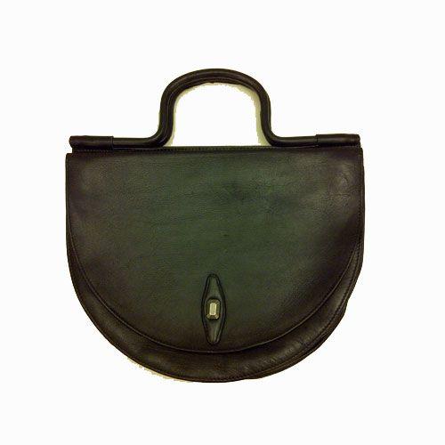 Borsetta Vintage vera pelle a forma di mezzaluna!! - Borse-vintage | Vitrinevintage