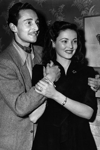Oleg Cassini & Gene Tierney: Gene Tierney, Cassini Wife, Oleg Cassini, Count Oleg, Classic Hollywood, Cassini Gene, Actress Gene, Fashion Designers