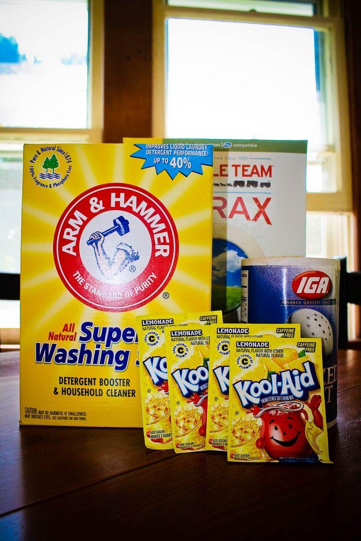 The Coffey House: Homemade Dishwasher Detergent