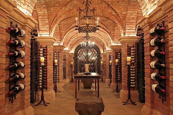 US Billionaire, Bill Koch's, Wine Cellar in Palm Beach, Florida