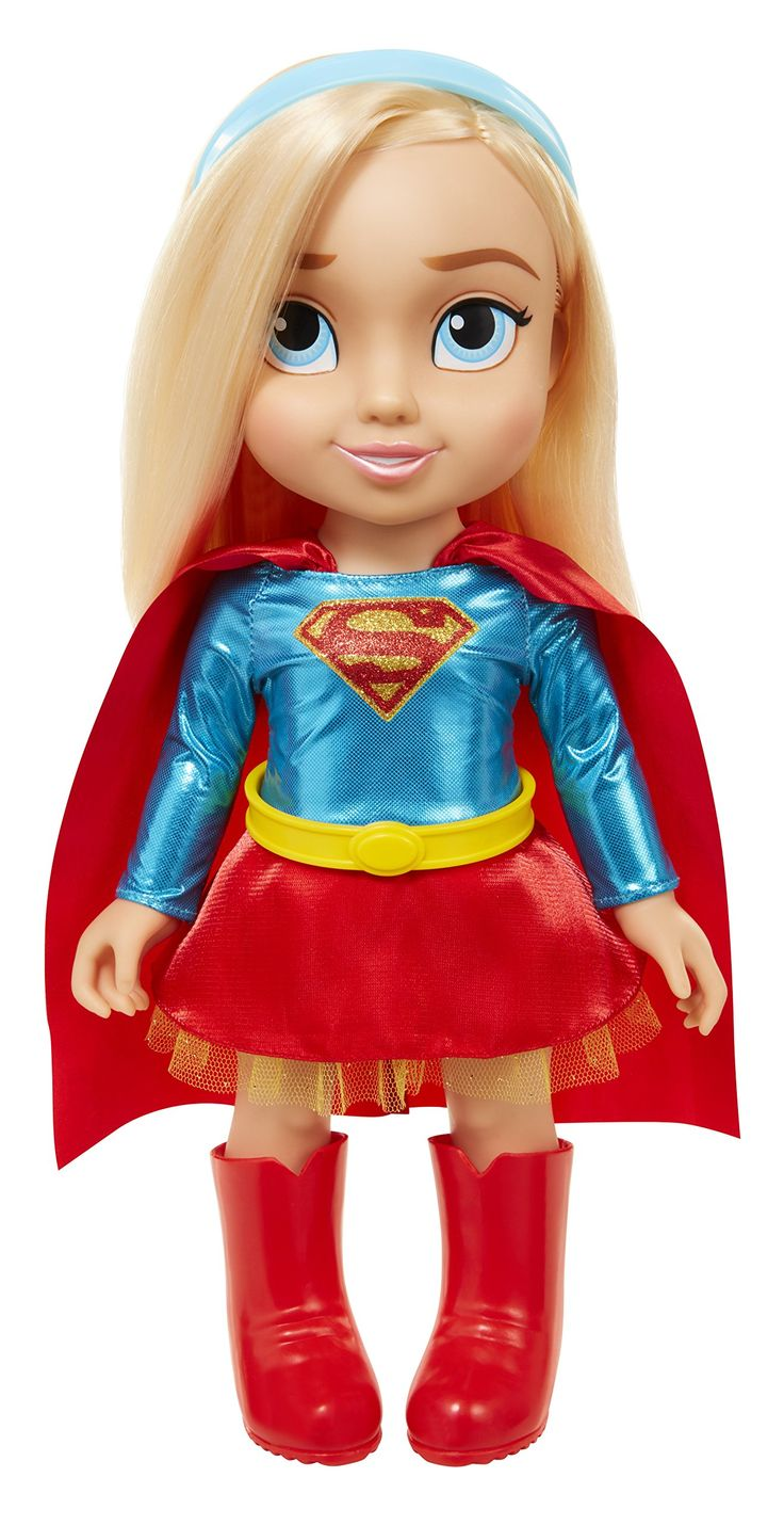 "Amazon.com: DC Toddler Dolls - 15"" Supergirl Toddler Doll, Includes: 5 Pieces: Toys & Games 