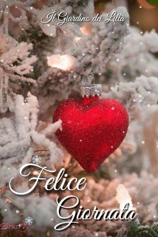 Felice Giornata Natalizia Cartolina Buon Natale Buon Natale E