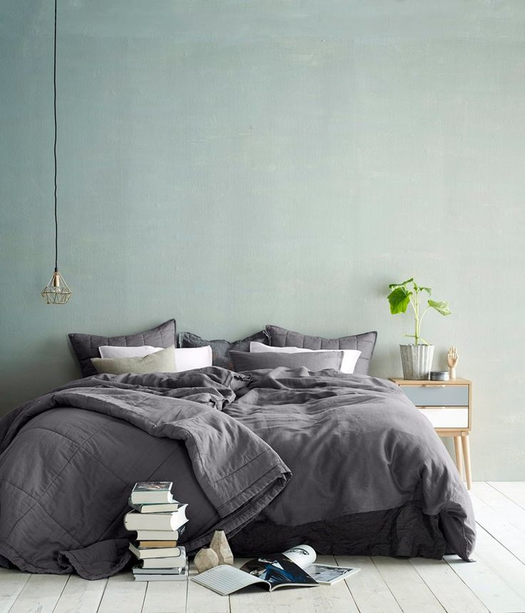 lime washed walls. Love this look!
