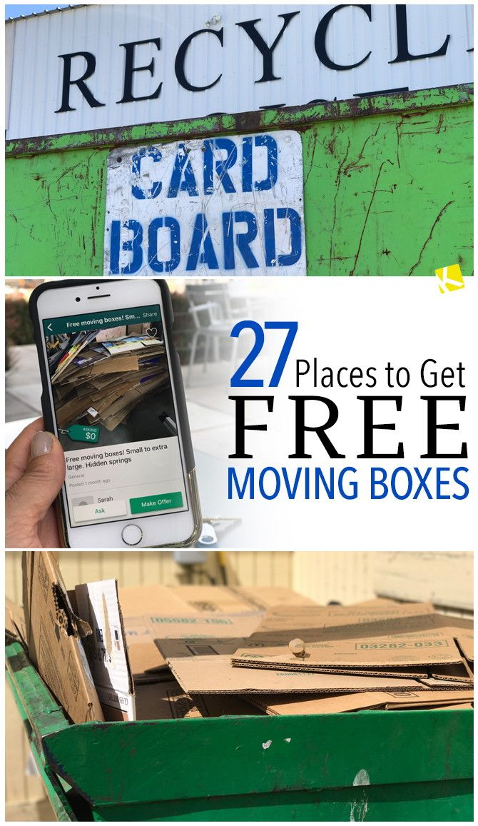 Moving? Make sure to check out where you can score free moving boxes before the big day!