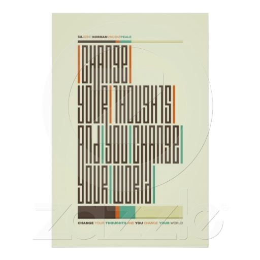 SA.0294 - Norman VP Quote Typography Poster