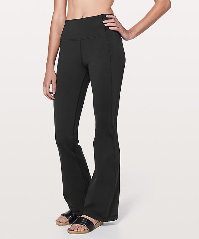 75b1bf0508f379 Lululemon Groove Pant Flare 32 *Full-On Luxtreme Online Only | Misc ...