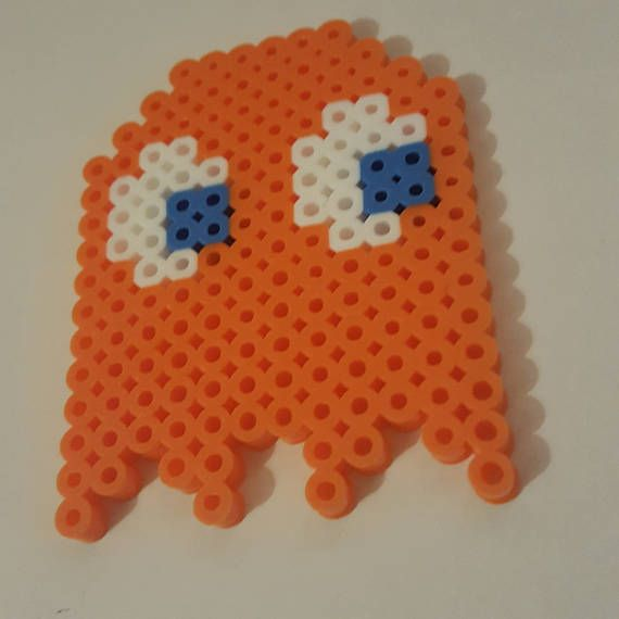 Kids Art Crafts DIY Kit Hobby  Hama Beads Pacman Clyde
