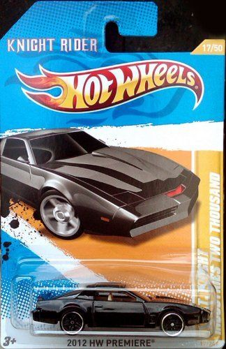 Hot Wheels 2012 K.I.T.T. Knight Rider Industries Two Thousand Die-Cast Collectible. by MATTEL. $14.25. 2012 HW Premiere 17 of 50. Save 51%!