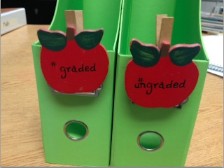 Classroom DIY: DIY Graded Papers Organizer