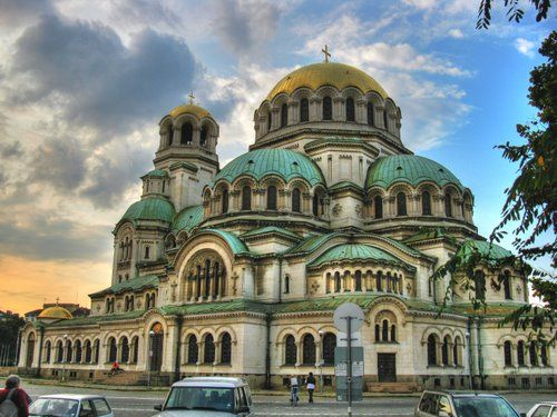 The St. Alexander Nevsky Cathedral  is a Bulgarian Orthodox cathedral in Sofia. Built in Neo-Byzantine style, it serves as the cathedral church of the Patriarch of Bulgaria and is one of the largest Eastern Orthodox cathedrals in the world, as well as one of Sofia's symbols and primary tourist attractions.