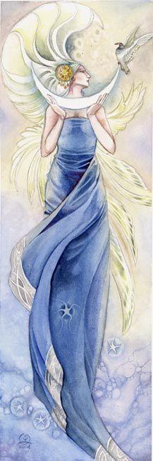 Stephanie Pui-Mun Law - Shadowscapes - Fantasy Art / Inspiración Azul @diariodeltraje #Moda