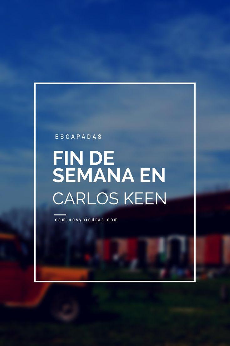 La localidad de Carlos Keen se encuentra ubicada a unos 90 km. de la ciudad de Buenos Aires, ideal para ir a pasar el día y descansar un poco de la ciudad.