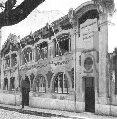 Escola António Arroios na rua Almirante Barroso