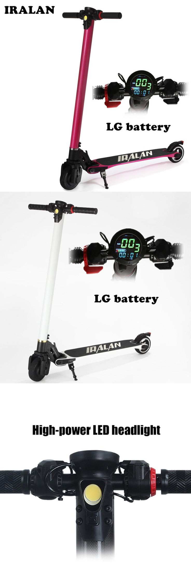 [Visit to Buy] RALAN S3 Upgrade Foldable Electric scooter Carbon Fiber Skateboard LG Battery bike Kick Scooter trottinette electrique adulte #Advertisement