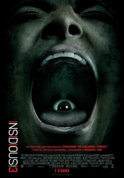 Insidious 3 (film, horror) diretto da Leigh Whannell  ... al #cinema dal 3 giugno 2015 ... #film #trailer