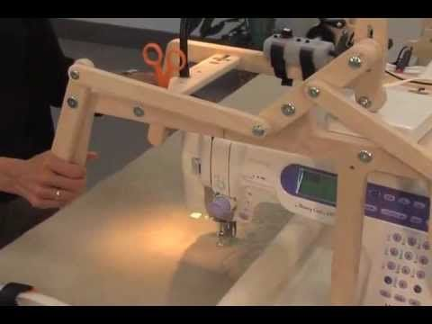 little gracie II frame assembly and fabric attachment - YouTube
